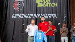 Parimatch – новий титульний партнер рівненського народного клубу Верес