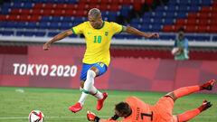 Футбольный турнир ОИ. Бразилия обыграла Германию, хет-трик Ришарлисона