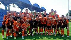 ФОТО. Шахтер U-19 награжден золотыми медалями за победу в чемпионате