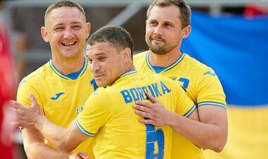 Сборная Украины одержала вторую победу на Кубке Независимости