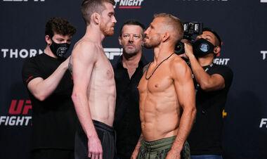UFC: Кори Сэндхаген – Ти Джей Диллашоу. Смотреть онлайн. LIVE трансляция