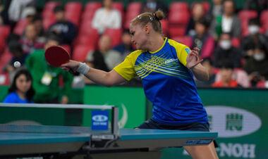 Настольный теннис. Украинка уступила во втором раунде