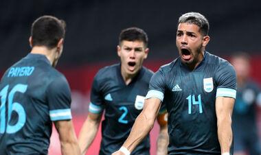 Аргентина добыла первую победу на футбольном турнире Олимпиады