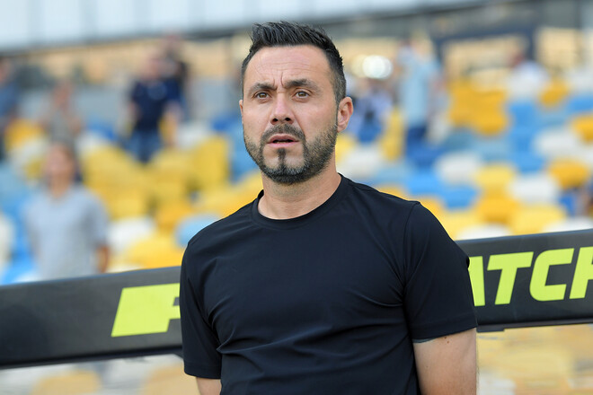 Роберто Де Дзербі дебютував в УПЛ з перемоги