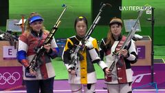 Перший комплект медалей ОІ. Росіянка випустила золото останнім пострілом