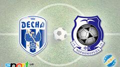Десна – Черноморец – 3:0. Текстовая трансляция матча