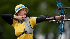 Стрельба из лука. Женская сборная Украины проиграла россиянкам в 1/8 финала