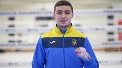 Украинский боксер Харциз проиграл азербайджанцу