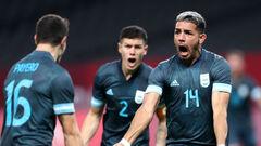 Аргентина здобула першу перемогу на футбольному турнірі Олімпіади