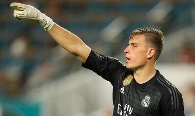 ВИДЕО. Лунин сыграл в спарринге за Реал и пропустил два гола от Рейнджерс
