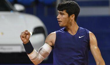 18-летний Карлос Алькарас выиграл дебютный титул ATP