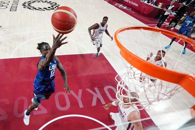 Сборная США по баскетболу прервала серию из 25 побед подряд на Олимпиадах