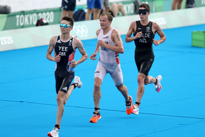 Триатлон. Норвежец Блумменфельт завоевал золотую медаль
