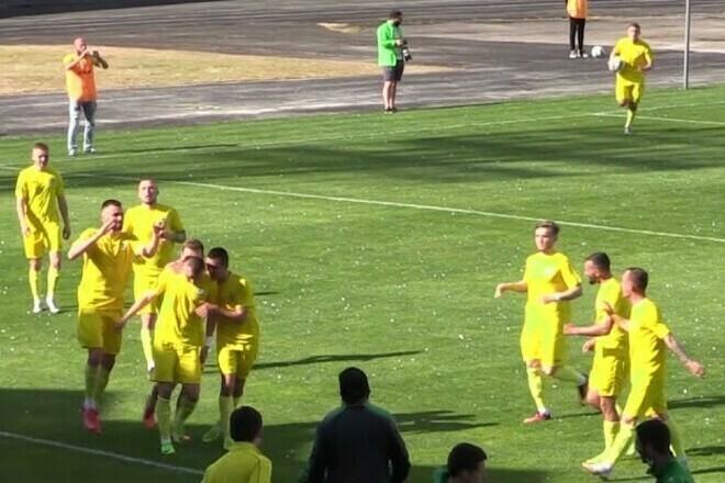 Нива Тернополь – Полесье – 1:0. Видео голов и обзор матча