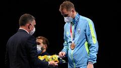 ФОТО. Вторая медаль для Украины в Токио. Как награждали Рейзлина
