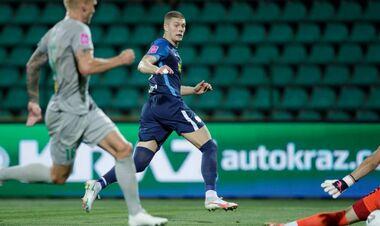 Артем ДОВБИК: «Доволен, что команда выдержала тяжелые полчаса матча»