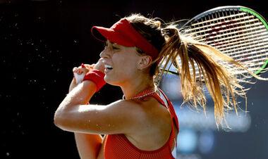 ФОТО. Плохо из-за жары. Испанская теннисистка не доиграла четвертьфинал