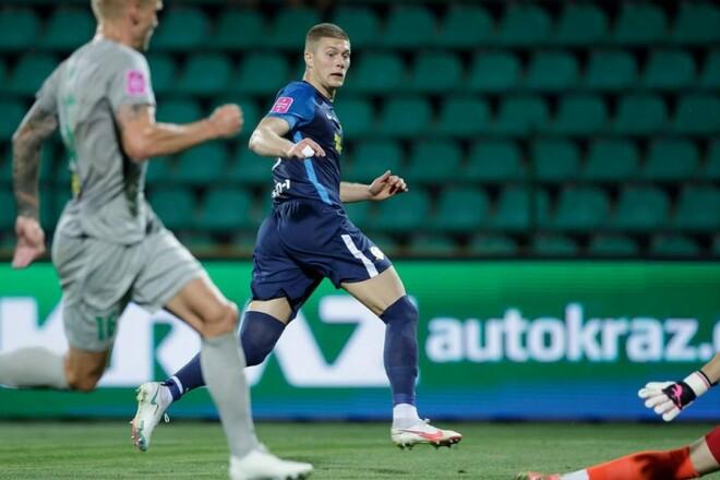 Артем ДОВБИК: «Задоволений, що команда витримала важкі півгодини матчу»