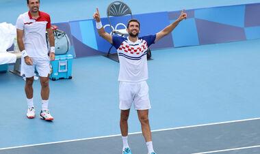 Два хорватских дуэта пробились в финал теннисного турнира на Олимпиаде