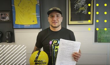 Ярослав Амосов продовжив контракт з Parimatch Україна