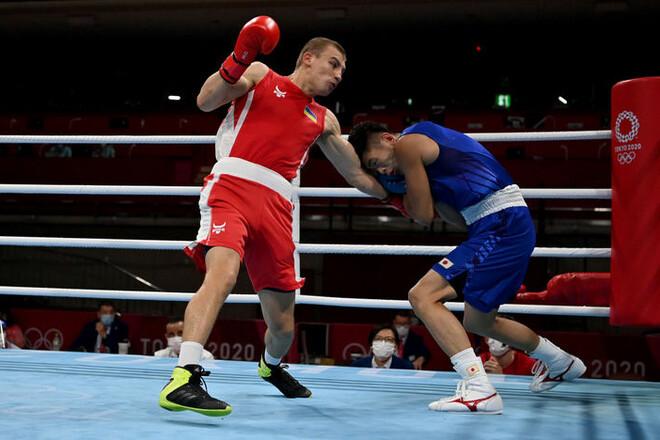 Українець Хижняк побив японця Морівакі і вийшов до 1/4 фіналу Олімпіади