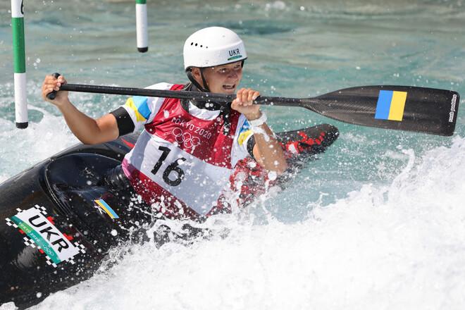 Веслувальний слалом на каное. Вікторія Ус показала 7-й результат у фіналі