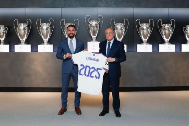 Реал продлил контракт с защитником