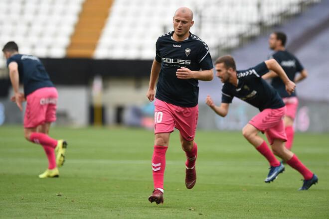 A Bola: Зозуля став гравцем португальського Ешторіла