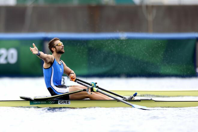 Академическая гребля. Грек Нтускос выиграл золото с олимпийским рекордом