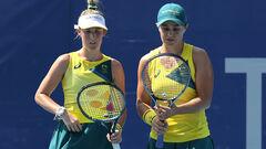 Теннисный турнир ОИ-2020. Известны участницы полуфиналов в паре у женщин