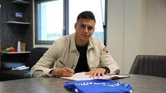 Украинец Кухаревич забил дебютный гол за французский клуб Труа