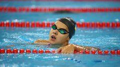 Плавание. Зевина вылетела в квалификации на дистанции 200 м на спине