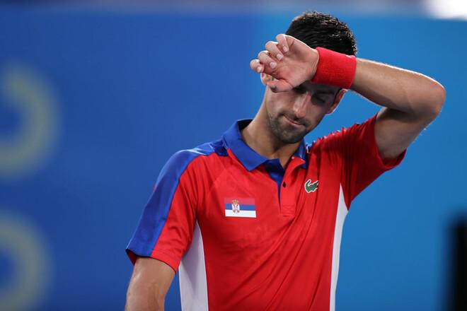 Золотого шлема не будет. Джокович проиграл в полуфинале Олимпиады