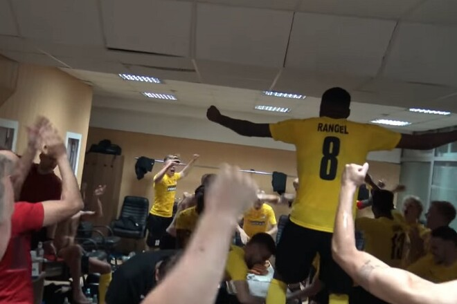 ВИДЕО. Как КуПС праздновал победу над Ворсклой
