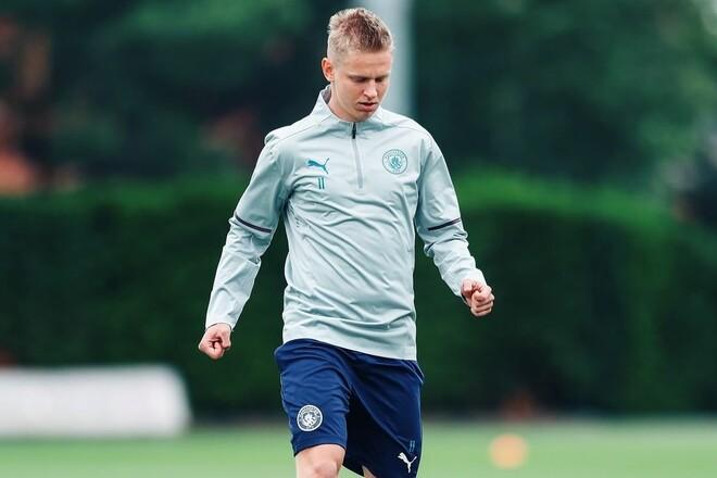 ФОТО. Зінченко повернувся у тренувальний табір Манчестер Сіті