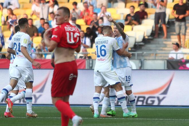 Динамо – Верес – 4:0. Текстовая трансляция матча