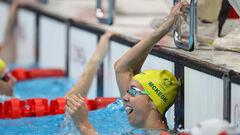 Плавание. Австралийка выиграла золото на 100 м с олимпийским рекордом