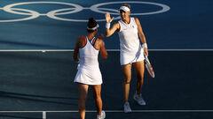 Теннисистки ОКР, обыгравшие сестер Киченок, проиграли в матче за бронзу