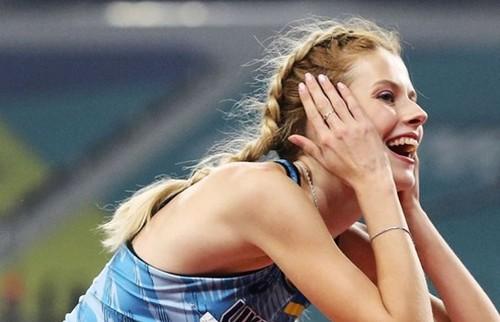 ВИДЕО. Новые рекорды от Магучих. Ярослава прыгнула на 2.06 м