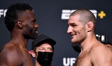 UFC: Юрайя Холл – Шон Стрікленд. Дивитися онлайн. LIVE трансляція