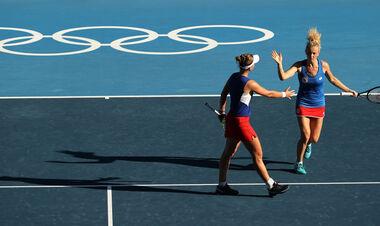 Теннисный турнир ОИ-2020. Определились чемпионки в женском парном разряде
