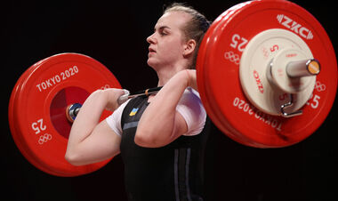 Важка атлетика. Українка Деха не змогла взяти медаль