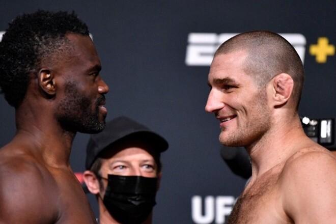 UFC: Юрайя Холл – Шон Стрикленд. Смотреть онлайн. LIVE трансляция