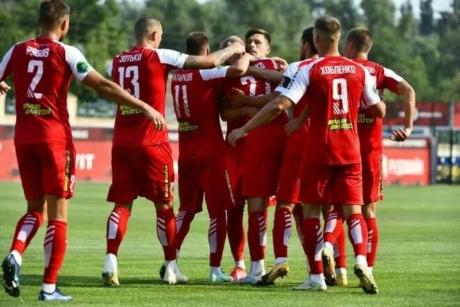 Кривбасс – Нива Тернополь – 1:0. Видео гола Дебелко и обзор матча