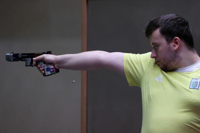 Коростылев не преодолел квалификацию в стрельбе с пистолета