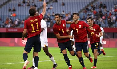 Іспанія - другий фіналіст футбольного турніру Олімпіади