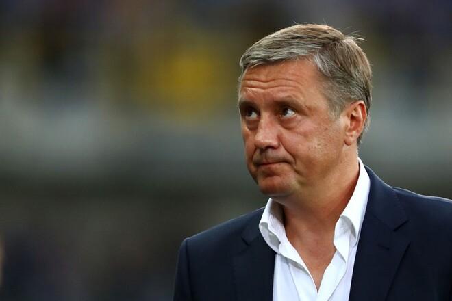 Хацкевич розповів, чи готовий очолити збірну України