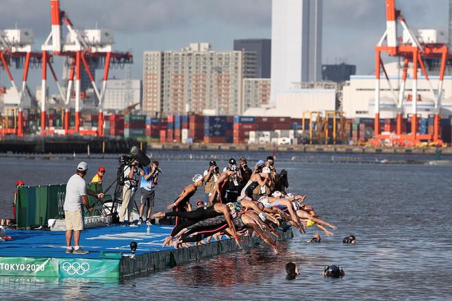 Панчишко заняла 22-е место на ОИ в марафонском заплыве на 10 км