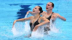Артистическое плавание. Украинки Федина и Савчук уверенно вышли в финал