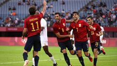 Испания – второй финалист футбольного турнира Олимпиады